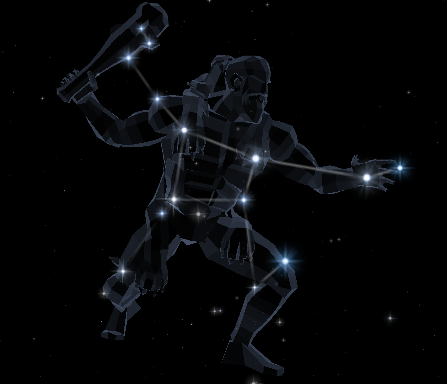 Hercules The Stars And Planets