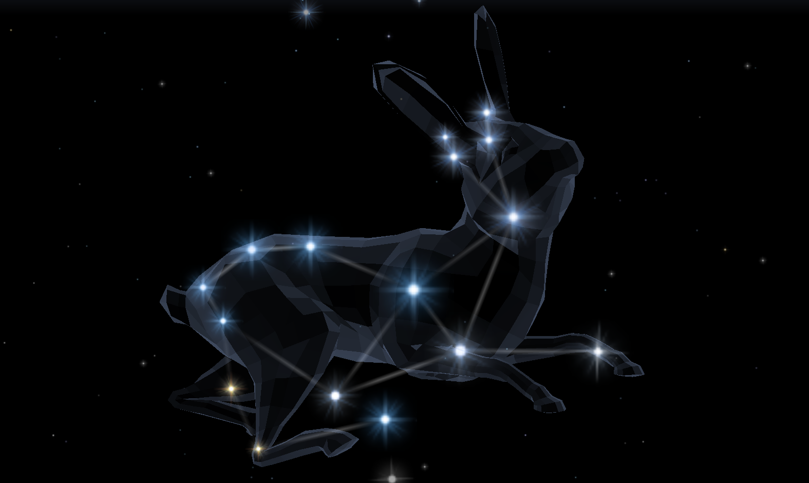 Lepus - The Stars and Planets